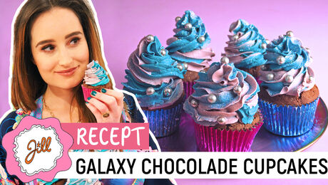 Galaxy Chocolate Cupcakes