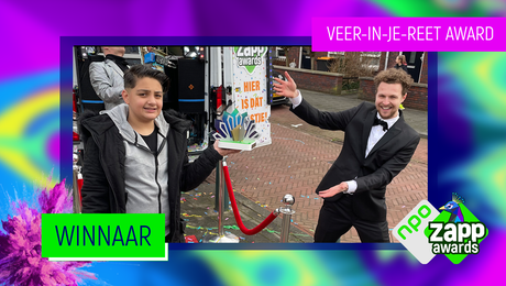 Yasin wint de Veer-In-Je-Reet Award 2021!