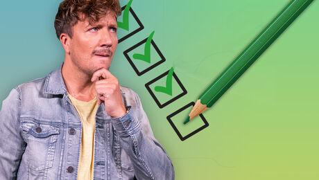 Is jouw stem ook groen?