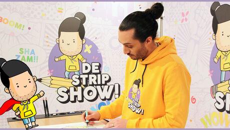 Leer striptekenen met De Stripshow
