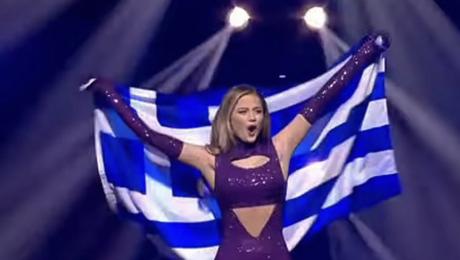 STEFANIA 10E OP EUROVISIE SONGFESTIVAL