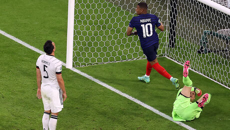 Frankrijk wint EK-duel dankzij Duitsland