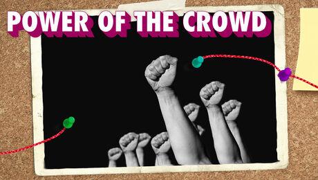 Wat betekent 'Power of the crowd'?