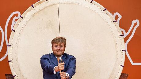 Koning Willem-Alexander opent TeamNL Olympic Festival
