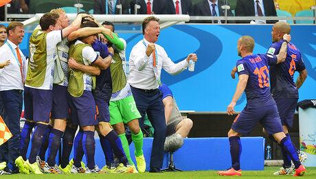 Louis van Gaal de nieuwe bondscoach Oranje