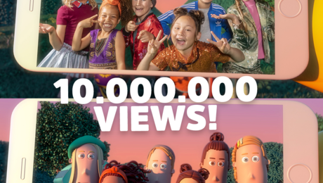 Tien miljoen views!