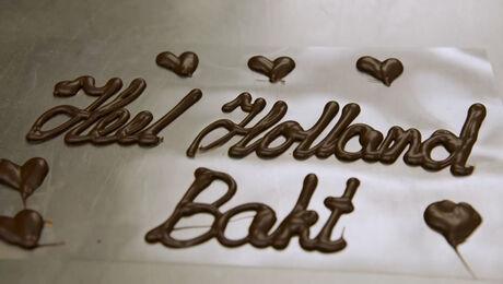 Schrijven met chocolade doe je zo!