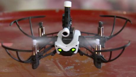 Wil jij deze schietende drone winnen?