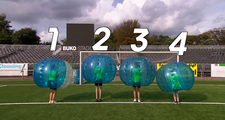Prijsvraag Bubblevoetbal