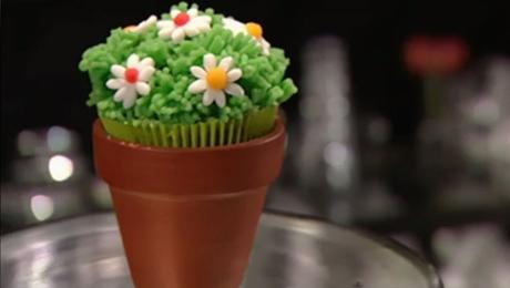 Cupcake tuintje