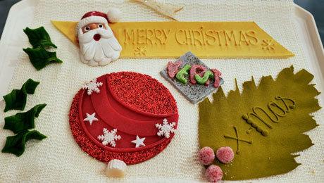 Kerstschild 460x260