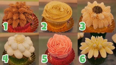 3 genummerd klassiekecupcakes