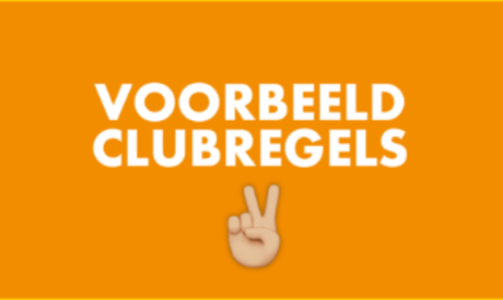 Voorbeeld clubregels
