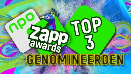 Dit zijn de Top 3's van de Zapp Awards!