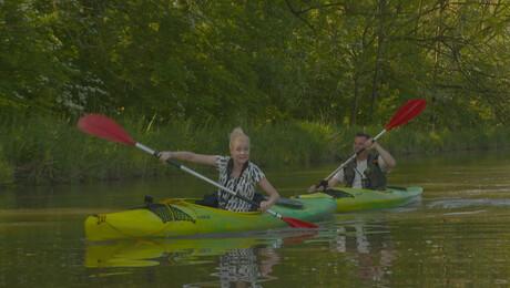 Het Klokhuis gaat kanovaren in de Biesbosch