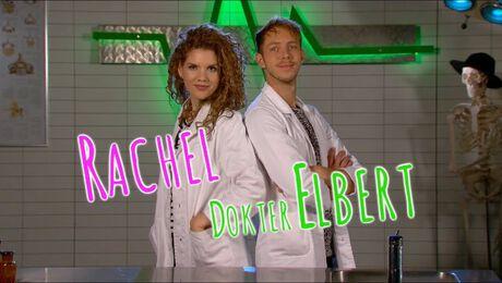 Rachel redt dokter Elbert onder het puin vandaan in Topdoks