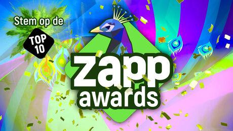 Stem op de top 10's van de Zapp Awards!