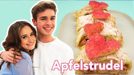 Bak een lekkere love-Apfelstrudel