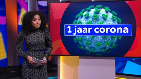 NOS Jeugdjournaal Extra: 1 jaar corona
