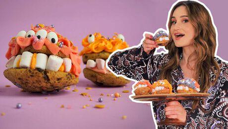 Monsterlijke koekjes bakken